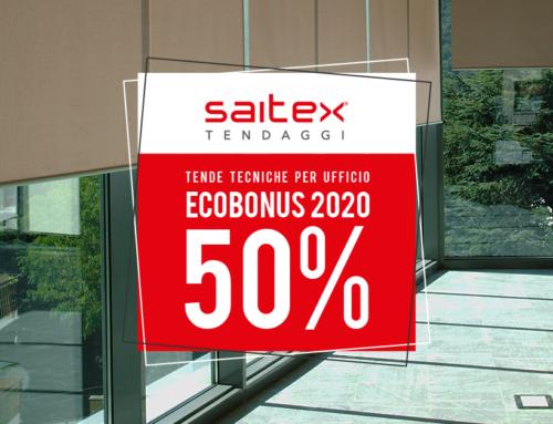 Ecobonus 2020 sulle Tende Tecniche per Ufficio